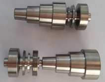 Titanium Nail with Male And Female 10&14&19mm 6 IN 1 Domeless